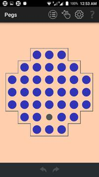 Pegs: A Geeky Puzzle Game apk screenshot