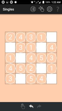 Singles: A Geeky Puzzle Game apk screenshot