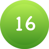 Sixteen: A Geeky Puzzle Game icon