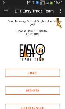 ETT Easy Trade Team screenshot 1