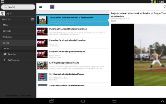 Evangeline Today apk screenshot