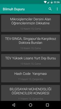 EÜ Bilmuh Duyuru apk screenshot