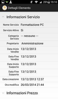 EU-CRM: Portale clienti apk screenshot
