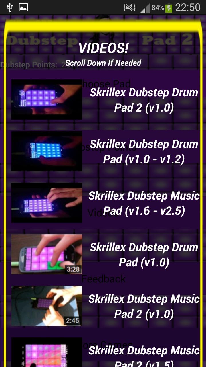 skrillex dubstep drum pads 2 for android apk download. Black Bedroom Furniture Sets. Home Design Ideas