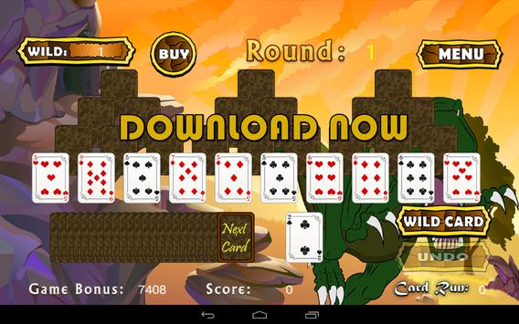 Three Peaks Pyramid Solitaire screenshot 1