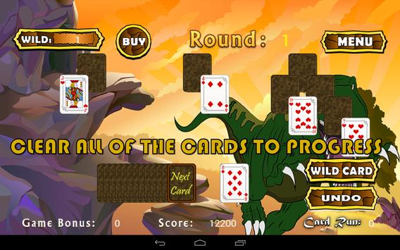 Three Peaks Pyramid Solitaire screenshot 2