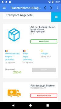 Frachtenbörse EUlogis.com apk screenshot