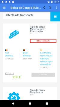 Bolsa de Cargas EUlogis.com screenshot 2