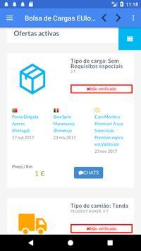 Bolsa de Cargas EUlogis.com screenshot 4