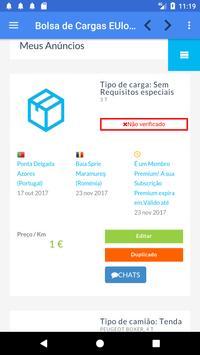 Bolsa de Cargas EUlogis.com screenshot 5