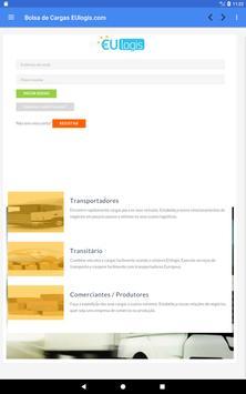 Bolsa de Cargas EUlogis.com screenshot 8