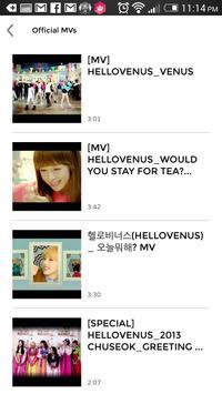HELLOVENUS (KPOP) Club apk screenshot
