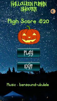 Halloween Pumpkin shooter screenshot 1