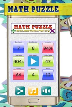 Math Puzzle poster