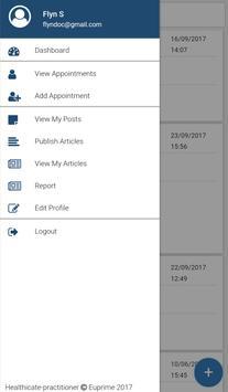 Healthicate-practitioner apk screenshot