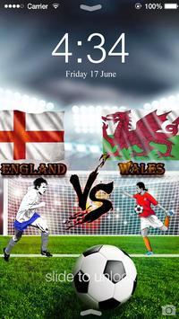 Euro 2016 England ScreenLock apk screenshot