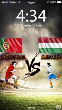 Soccer EURO 2016 Screen Lock apk screenshot