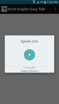 Hindi & English Easy Talk apk screenshot