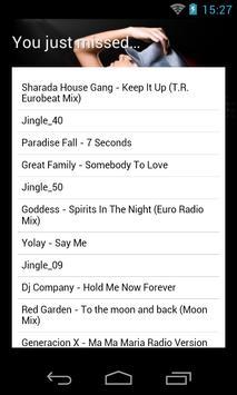 Radio Eurodance Classic apk imagem de tela
