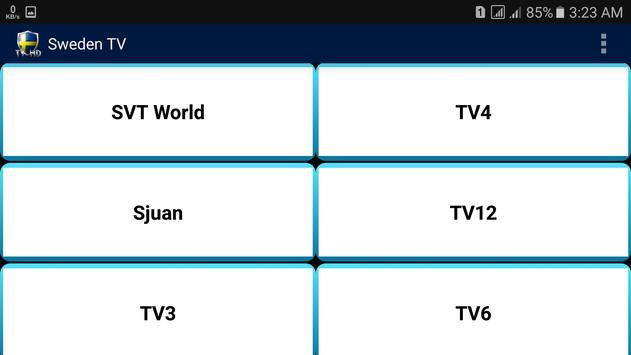 Sweden TV screenshot 3