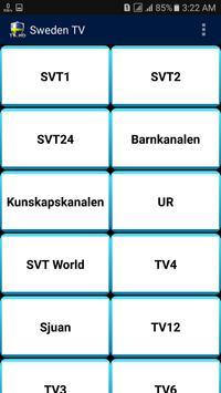 Sweden TV poster