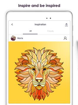 MyColorful Coloring Book For Adults Apk Screenshot