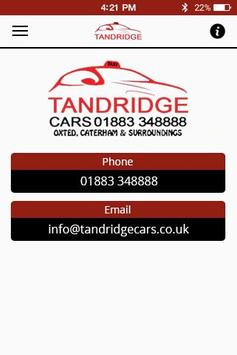 Tandridge Cars apk screenshot