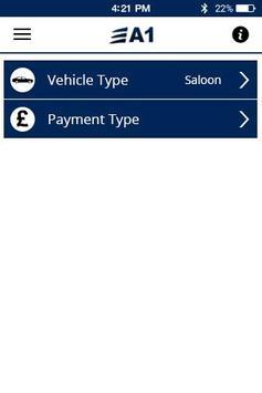 A1 Cars London apk screenshot