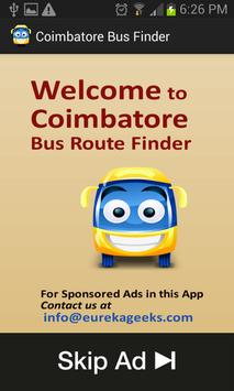 Coimbatore Bus Finder poster