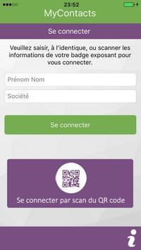 Mycontacts-event apk screenshot