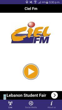Ciel FM poster