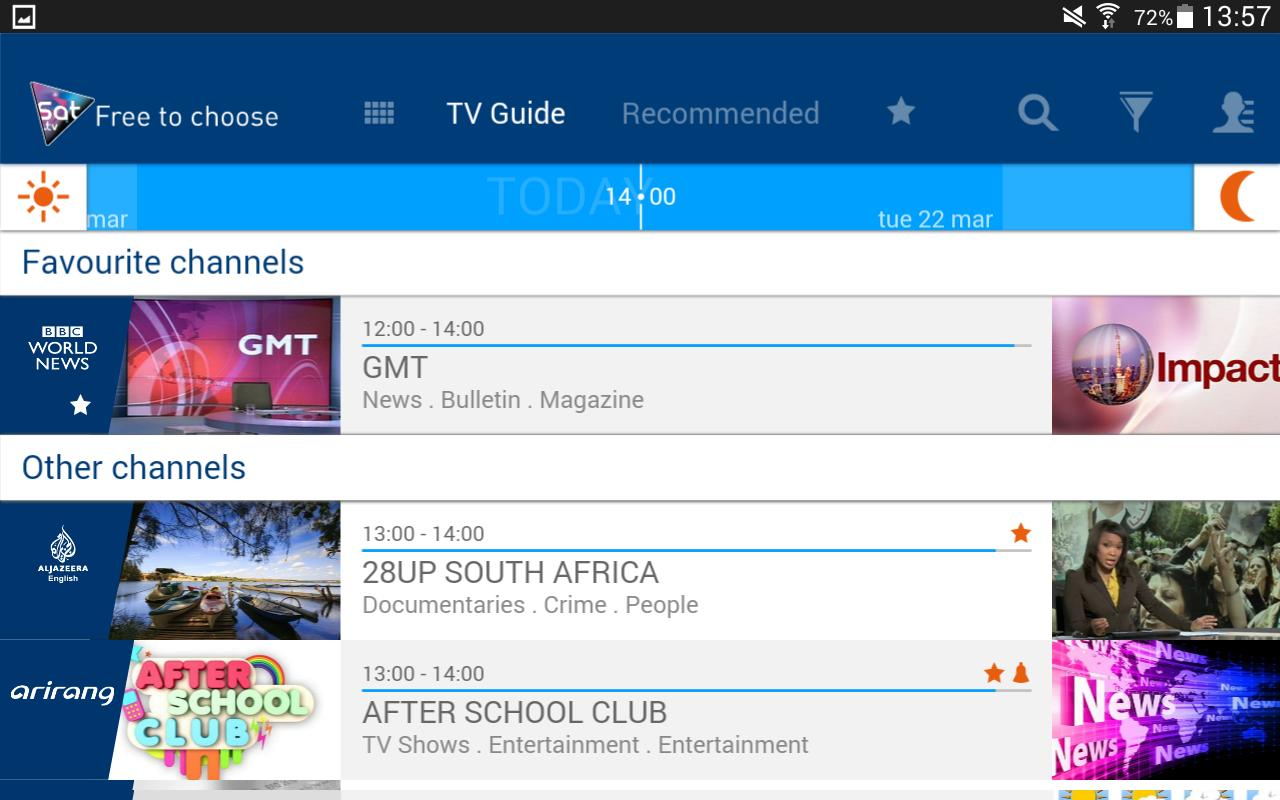 Eutelsat Free-to-air TV guide for Android - APK Download