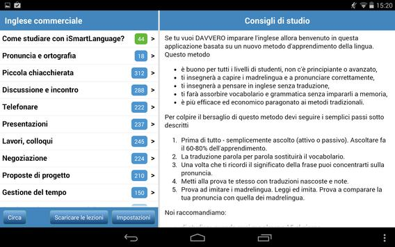 Inglese commerciale screenshot 13