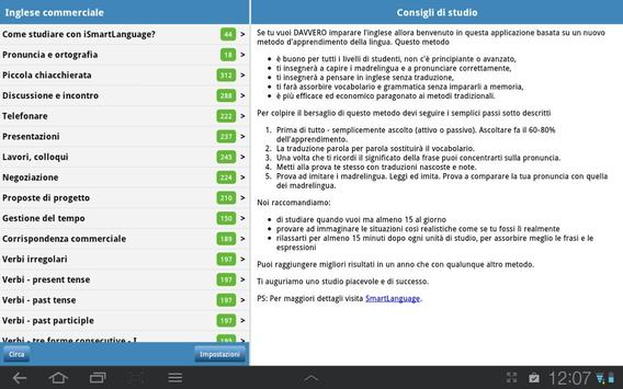 Inglese commerciale screenshot 5