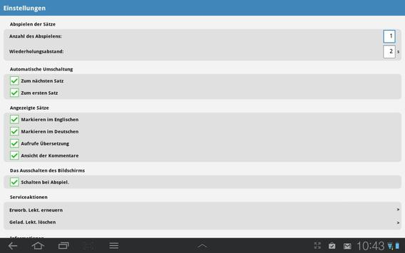 Englisch PREMIUM apk screenshot