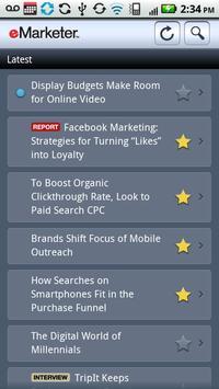 eMarketer Executive View apk screenshot