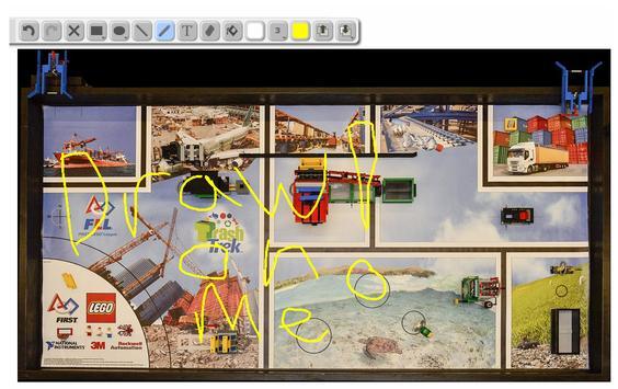 FLL Interactive Sketch Planner poster