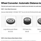 FLL Wheel Converter icon