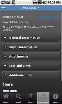 eVA Mobile 4 Business apk screenshot