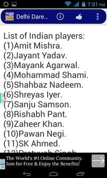 IPL 2017 Fixture apk screenshot
