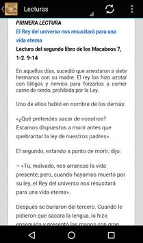 Evangelio del Dia 2017 screenshot 17