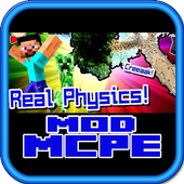 Real Life Physics Mod for MCPE icon