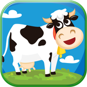 Cow Milk Game icon