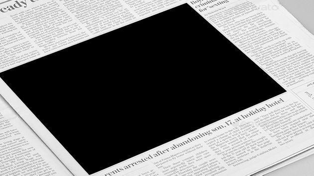 Newspaper Photo Frame screenshot 1