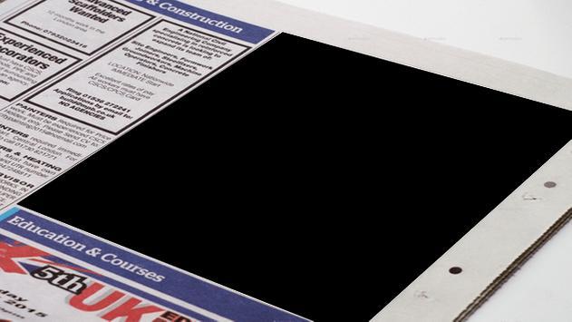 Newspaper Photo Frame screenshot 2