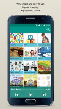 Toddler's Audio Player: music and stories for kids poster