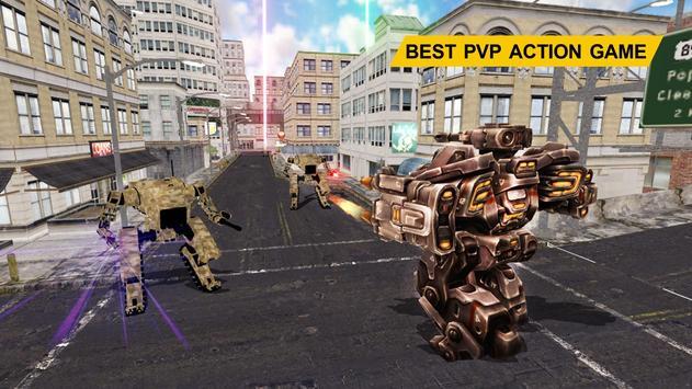 Futuristic Robot War Simulator apk screenshot