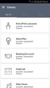 AW Event apk screenshot