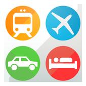 Train tickets.Avia.Travelmates icon
