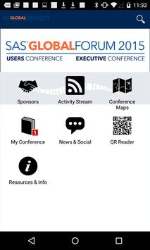 SAS Global Forum 2015 poster